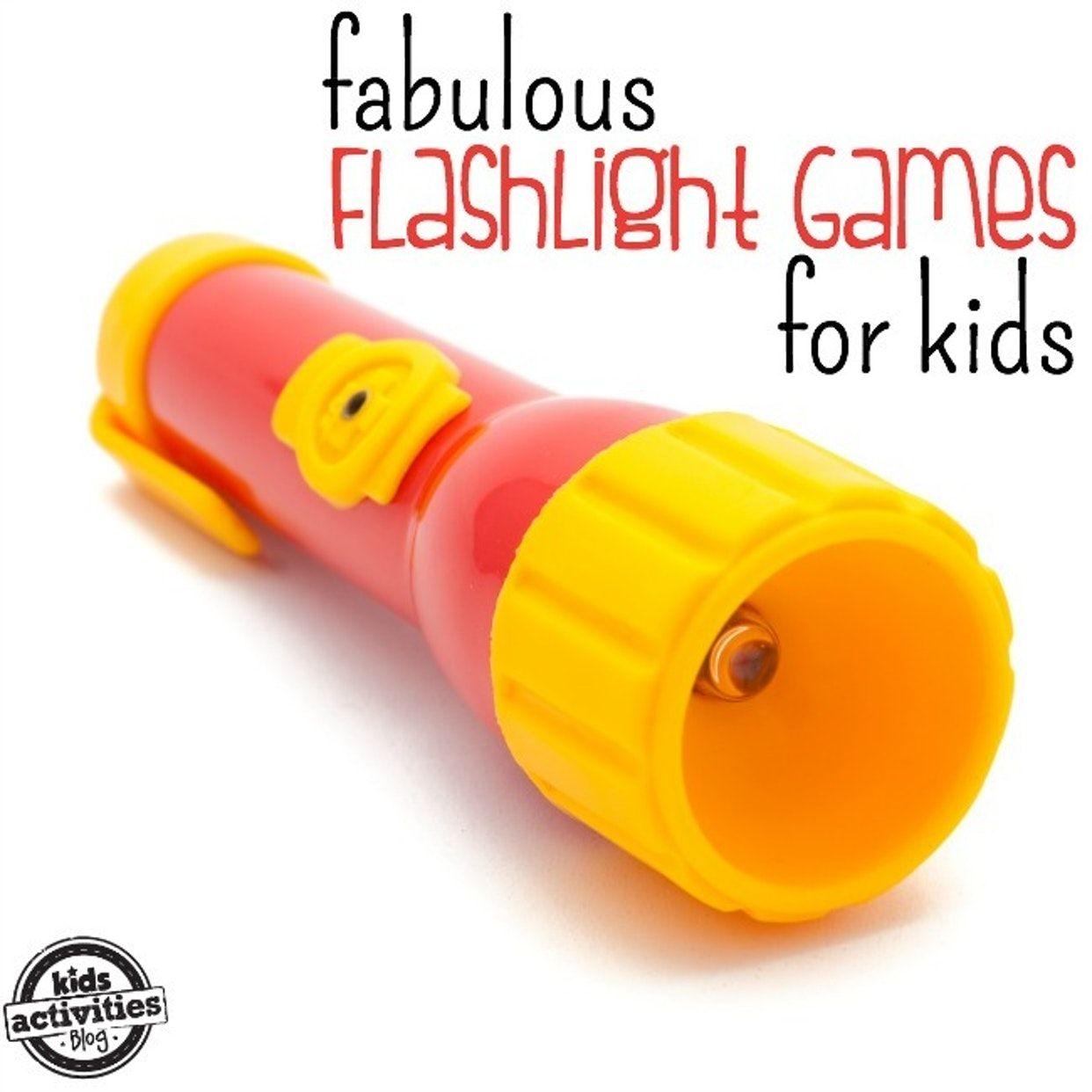 Flashlight Games For Kids After Dark Fun