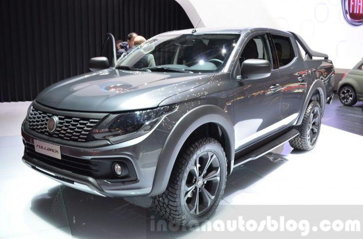 Recap Fiat Fullback Pickup Truck Geneva Motor Show Live