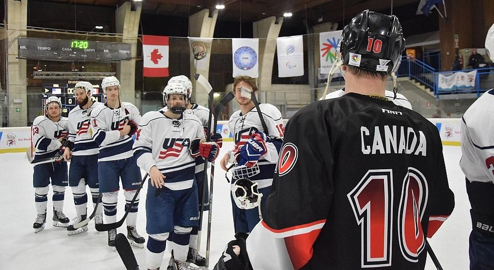 Us Men S National Deaf Ice Hockey Team Wins Gold At 2019 Deaflympics With Images Hockey Teams Ice Hockey Teams Ice Hockey