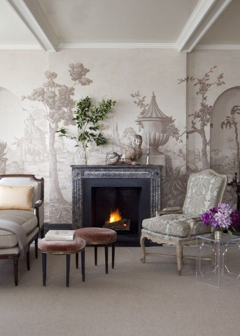 Bachelorette's Abode: feminine interior design decor