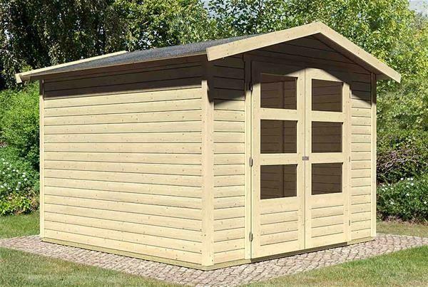 eBay Sponsored WoodFeeling Gartenhaus 19mm Amberg 4 natur