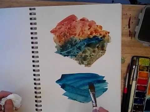 Watercolor Sketching - Part 2 - Cathy Johnson - YouTube
