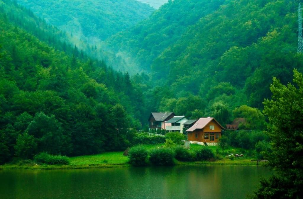Nature Hd Wallpapers Free Download Forest House Nature Wallpaper Beautiful Places