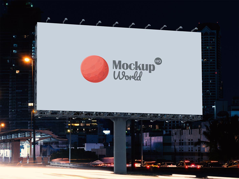 Free Roadside Billboard Mockup Billboard Mockup Billboard Mockup