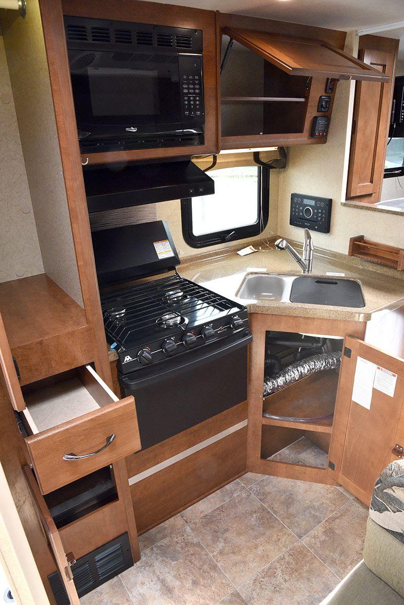 2016 Lance 850 Review Truck camper, Camper kitchen, Camper