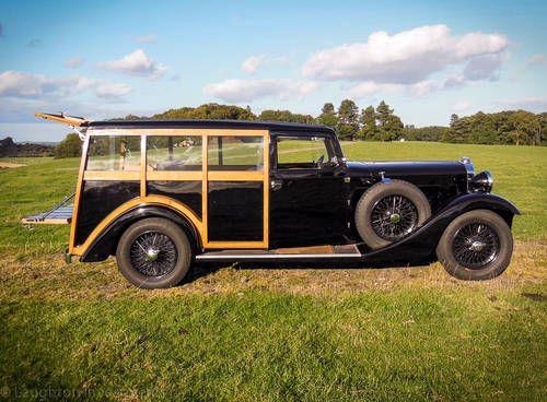 1935 Sunbeam 6 cylinder 3.4 Shooting Brake by Mulliners