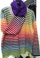 allixx's Kauni rainbow Stripes