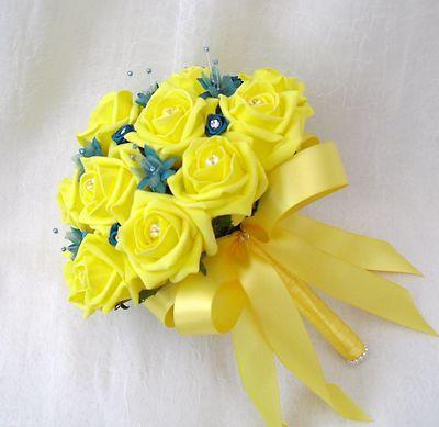 Arificial doesn\'t mean bad. Look at this beautiful yellow bridal ...