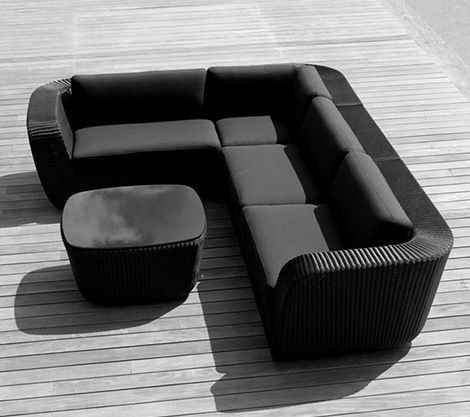 Designed by Johannes Foersom and Peter Hiort-Lorenzen for Cane, this cool outdoor  furniture offers all the casual charm of - Cool Outdoor Furniture - Elegant Savannah Furniture Line By Cane