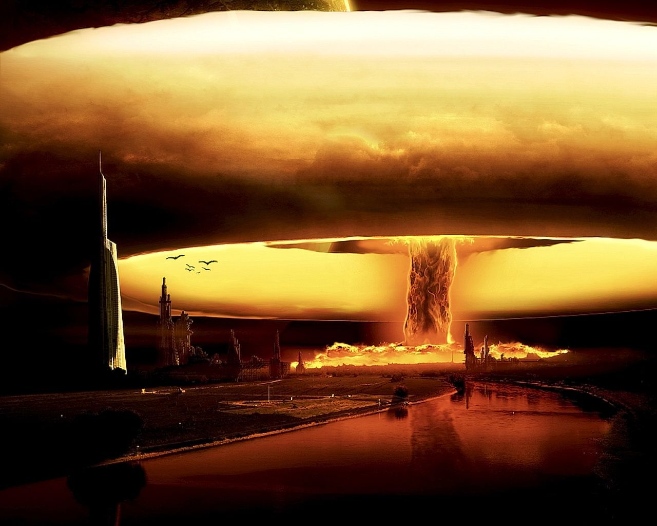 Atomic Bomb Wallpaper Nuclear Bomb Destroyer Of Worlds Weapon Of Mass Destruction