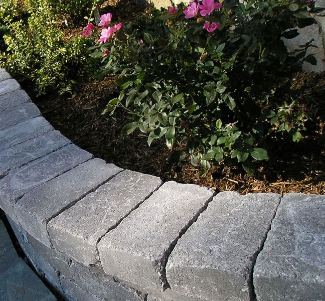 Simple Edging A Garden Bed With Images Flower Bed Edging
