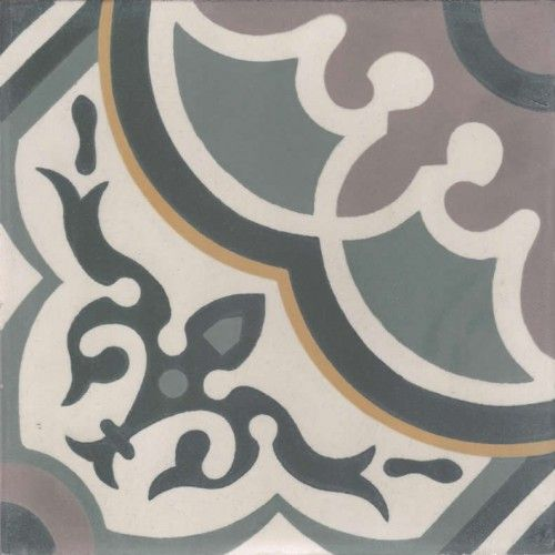 Moroccan Encaustic Cement Pattern Pre Sealed 29c