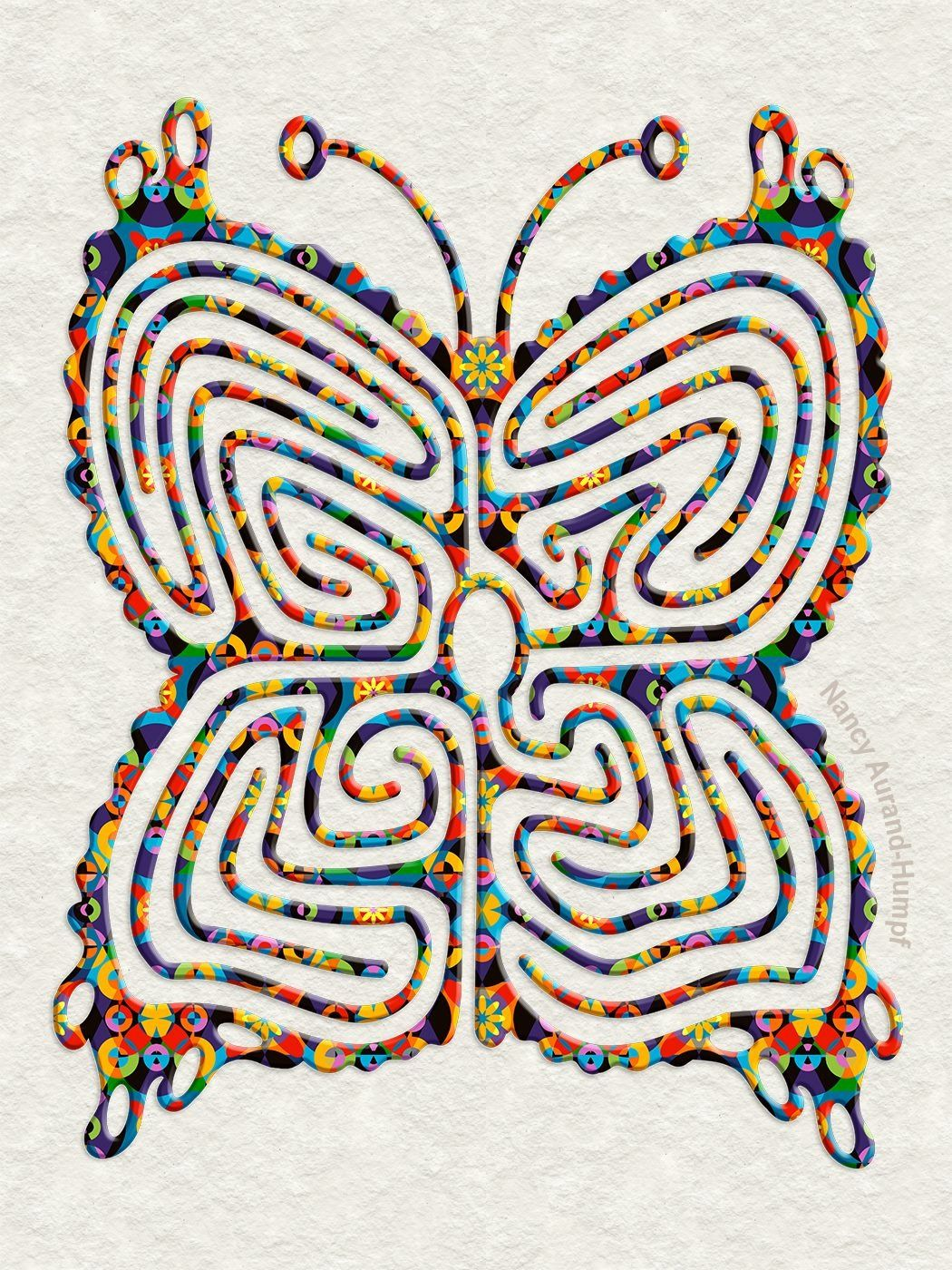 Labyrinth Patterns How To Make A Seven Path Purple Circuit Classical From 5circuit Chartres Pinterest Garden Maze And