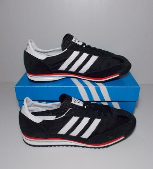 Adidas Sl 72 Black Size 38 40 2 3 42 2 3 43 1 3