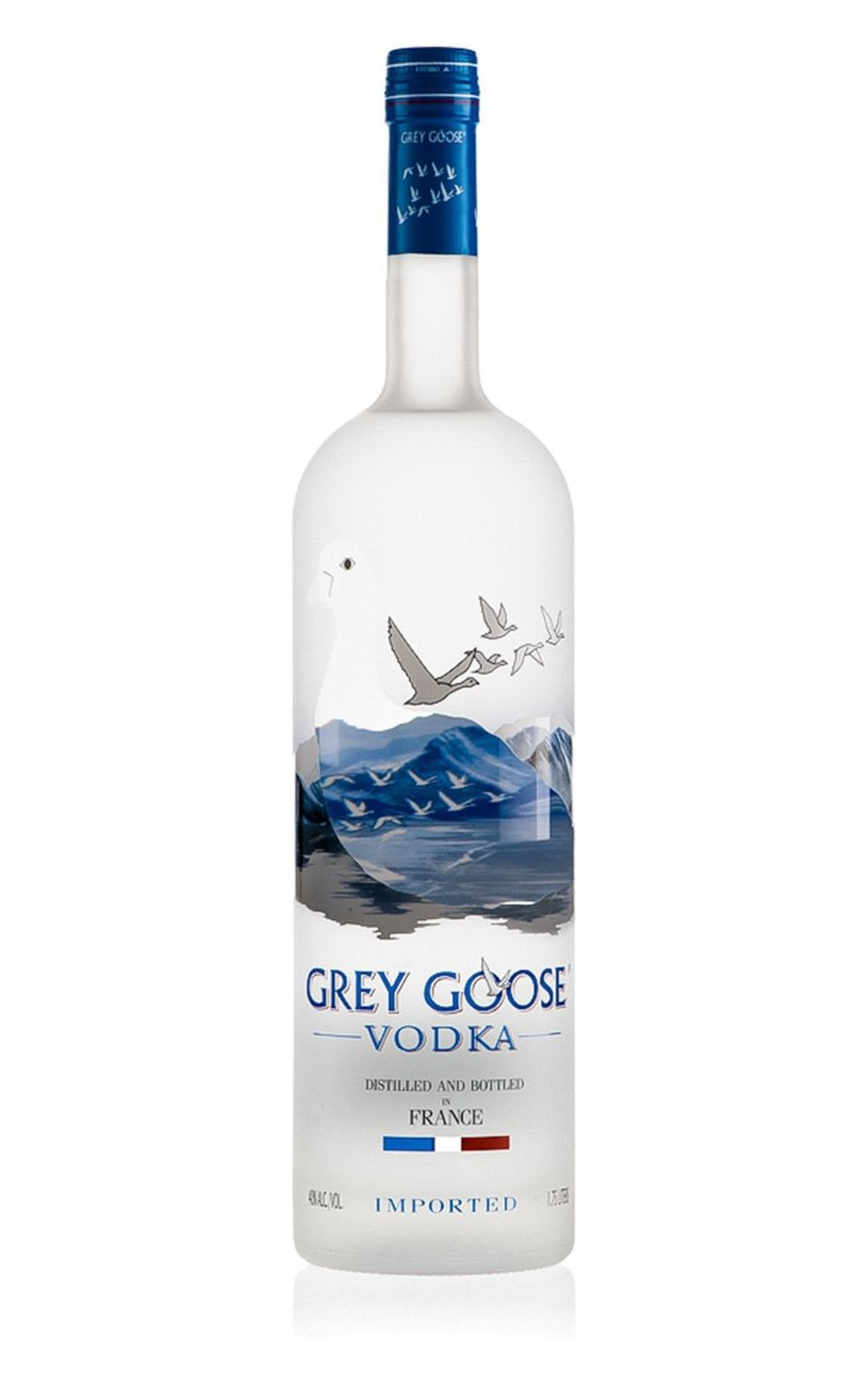 The best in the world vodka Gray Goose