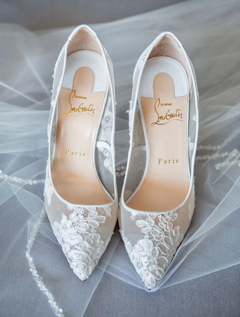 Pin By Regina Davis On Kjole Bryllup In 2020 Louboutin Wedding Shoes Christian Louboutin Wedding Shoes Christian Louboutin Wedding