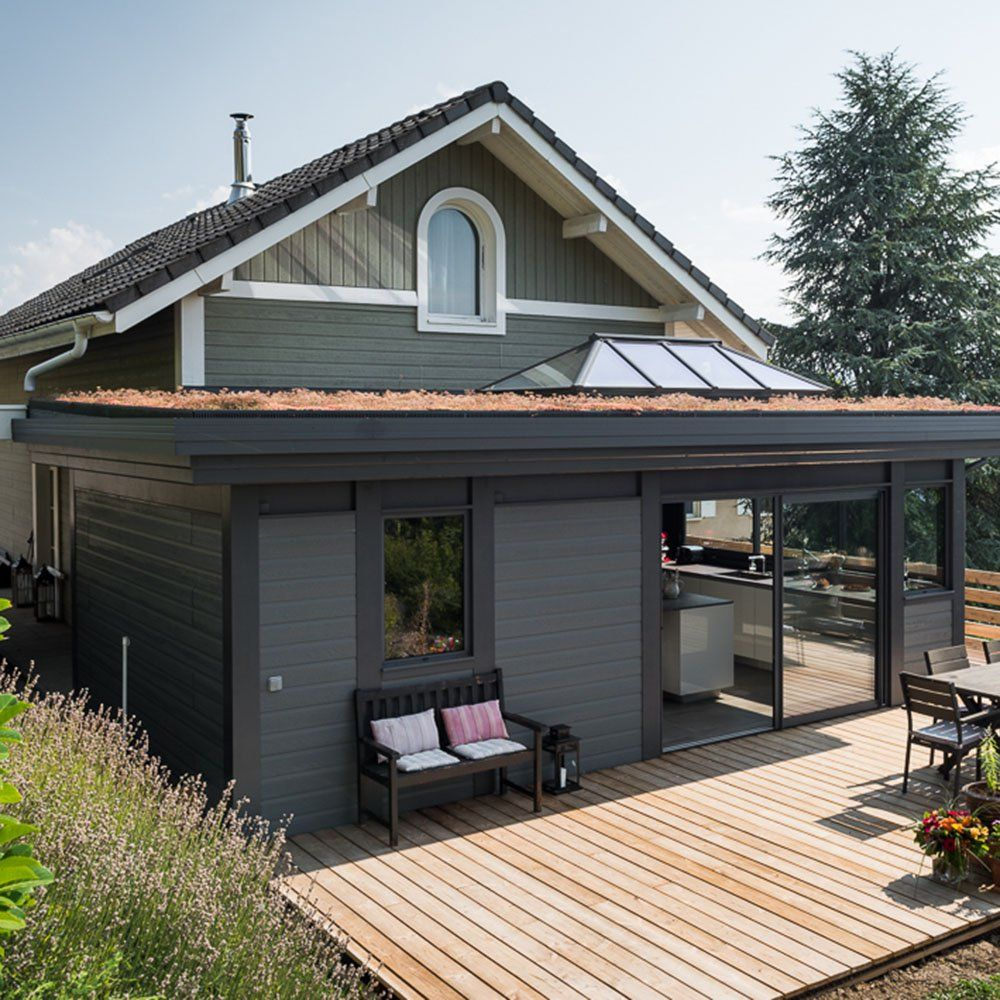 Créer une véranda : de la construction à l'aménagement on vous dit tout !   Veranda bois ...