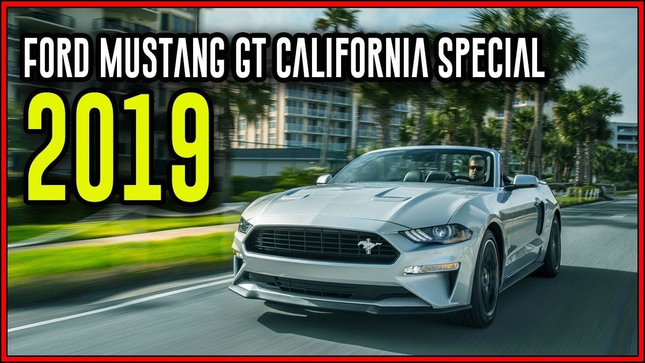 2019 Ford Mustang Gt California Special Quad Tip Exhaust System