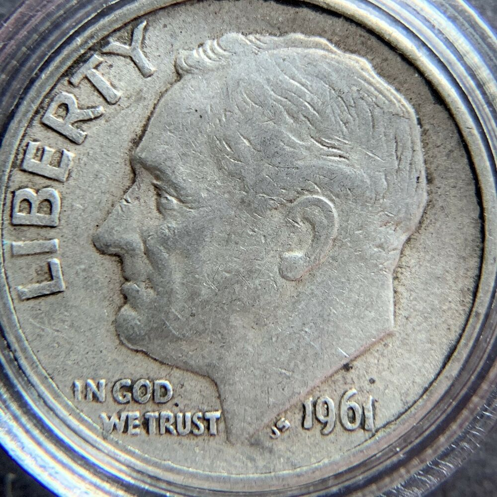 1961 d penny coin value