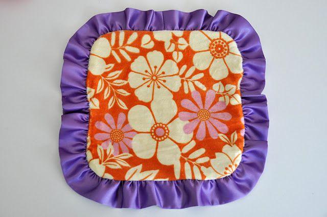 cute lovey blanket   easy to make...