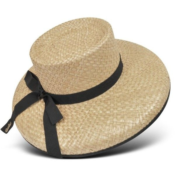 e7c6c1c7213 Borsalino Straw Hat - Polyvore- Summer Breakfast at Tiffany s