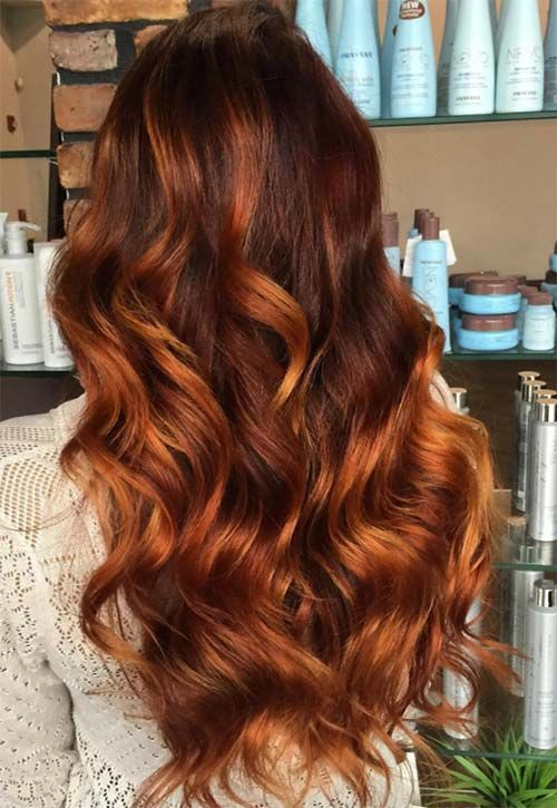 45 Copper Red Ginger Hair Color Ideas Hair Amp Beauty