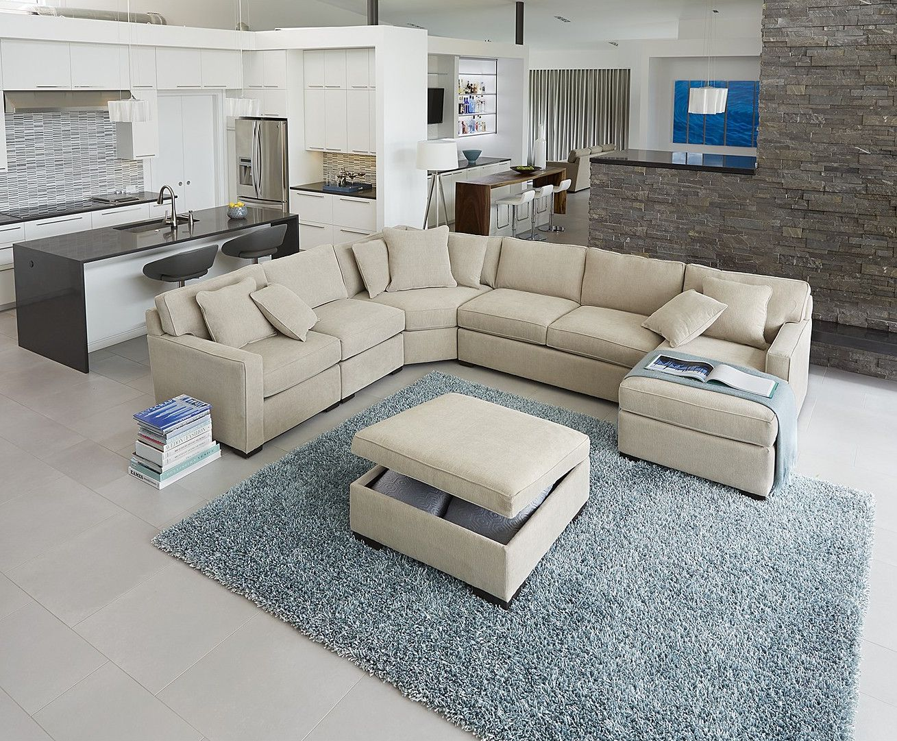 Macy s furniture outlet - This Is The Couch We Are Getting Macy S Radley 5 Pc Sectional In Chrome