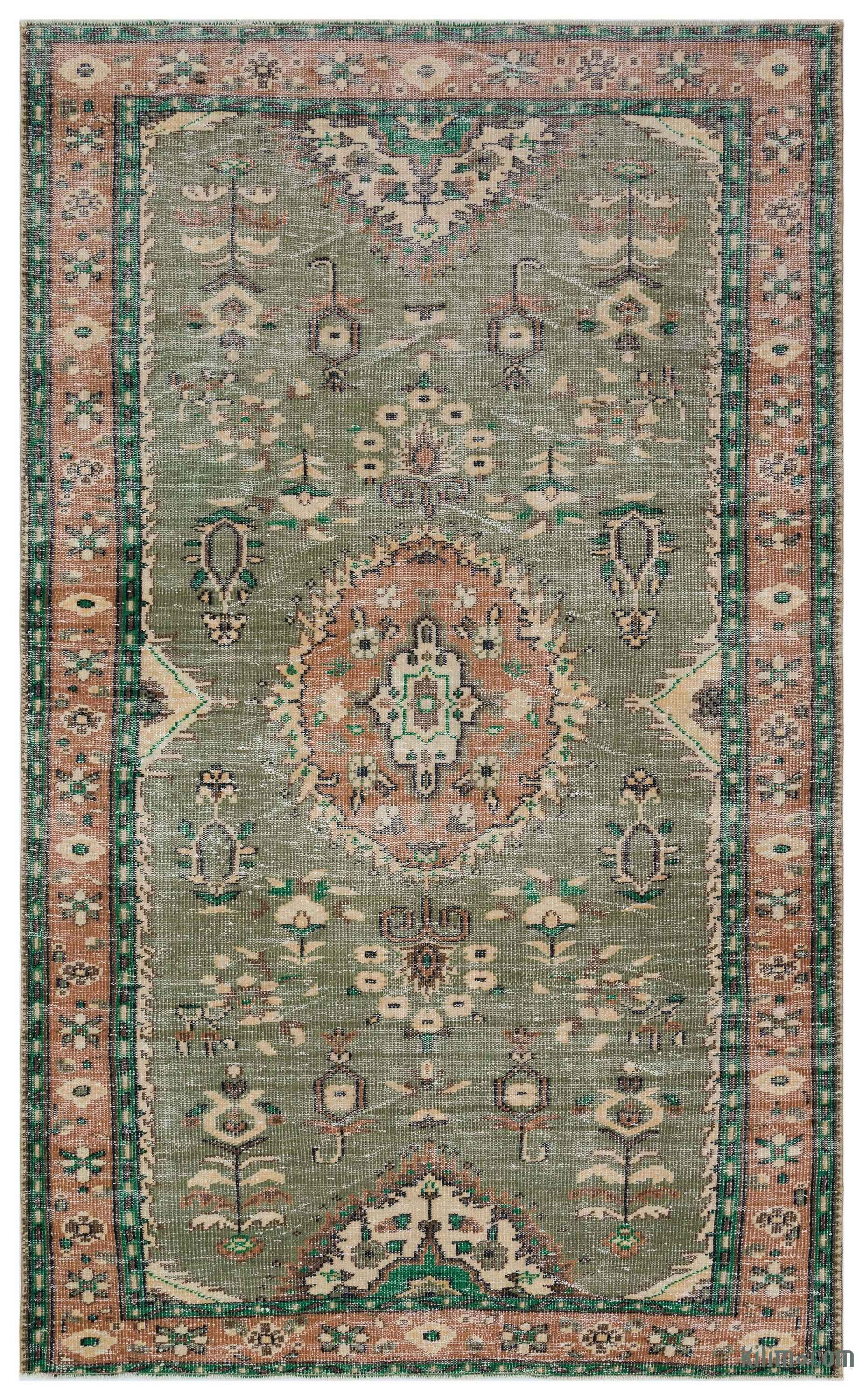 Turkish Vintage Area Rug 5 7 X 9 4 67 In X 112 In In 2020