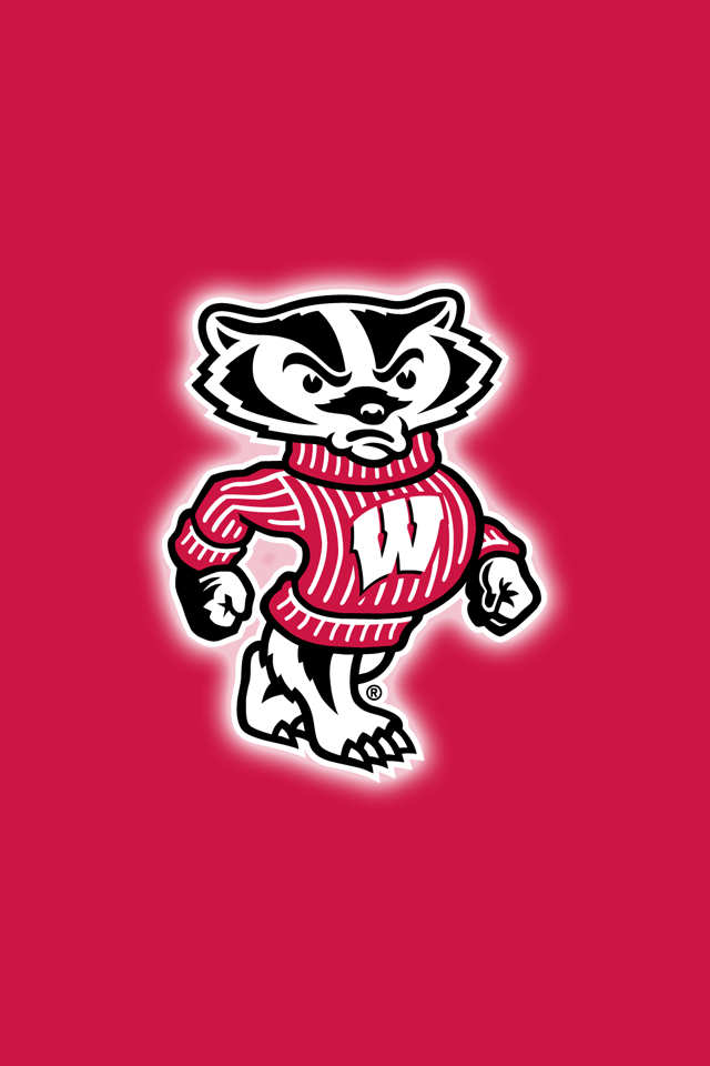 Get A Set Of 12 Officially Ncaa Licensed Wisconsin Badgers Iphone Wallpapers Sized Precisely For A Wisconsin Badgers Football Wisconsin Badgers Badger Football