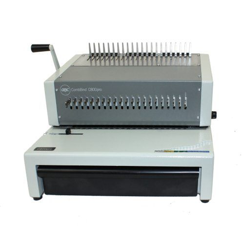 Gbc Combbind C800pro Electric Plastic Comb Binding Machine 27170 The New Gbc Combbind C800pro Electric Plastic Comb Binding Ma Binding Machines Plastic Comb