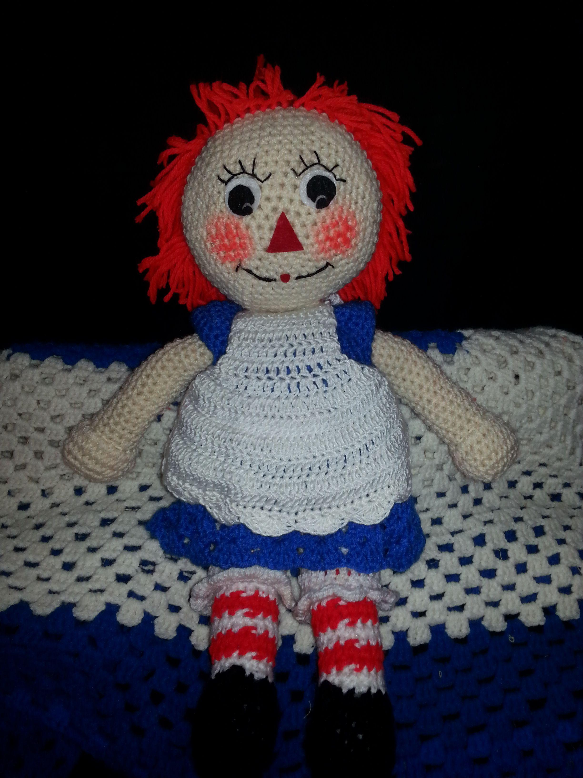 My version of Raggedy Ann www.facebook.com/bearmeups