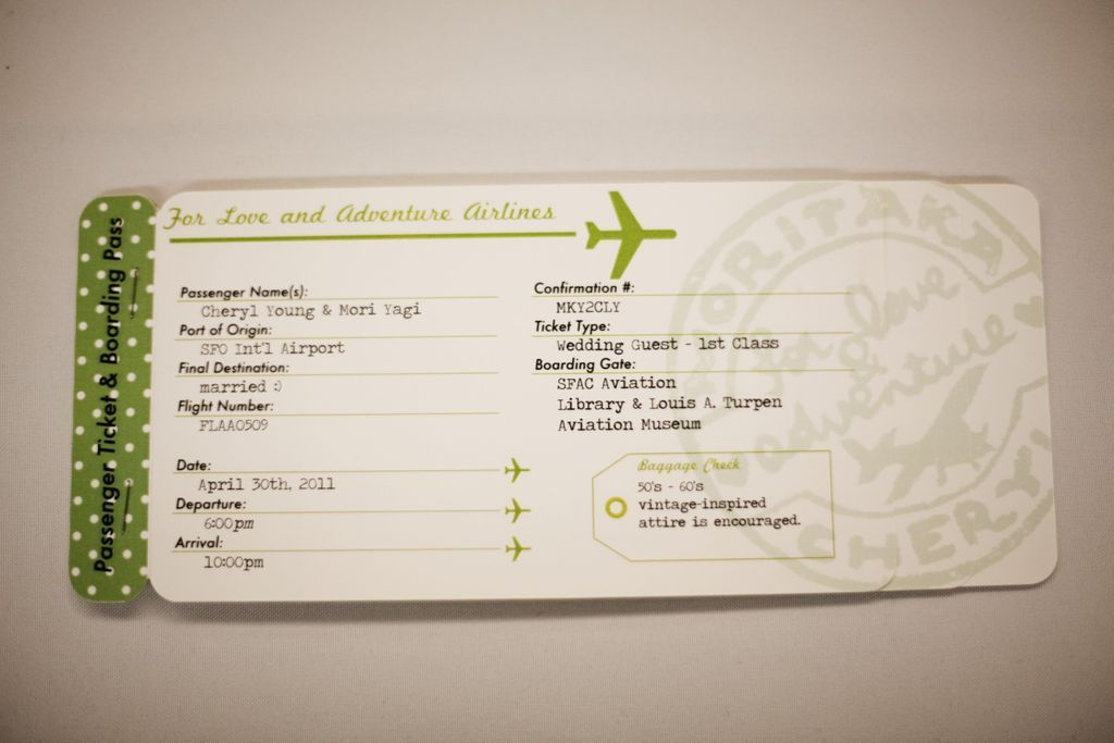 Airline Ticket Template Word Gorgeous Plane Ticket Invitations Passport Programs And Luggage Tag Escort .