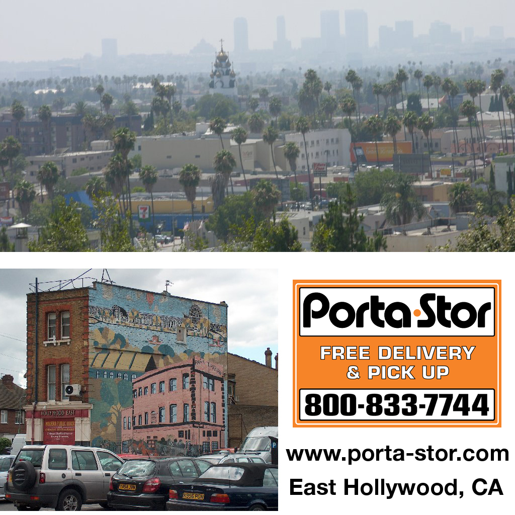 Porta Stor Location Collage East Hollywood East Hollywood CA