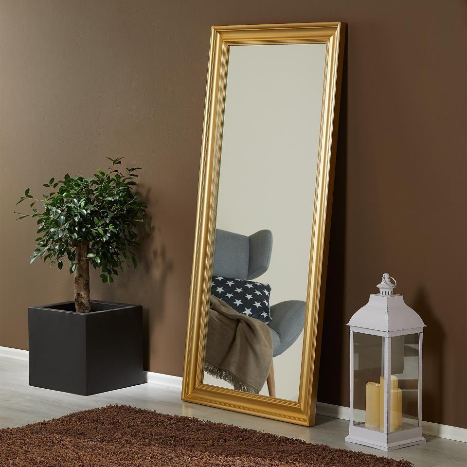 Spiegel Skotterup 78x180 Gold Danisches Bettenlager Spiegel Bar Innenausstattung Dekor Zimmer