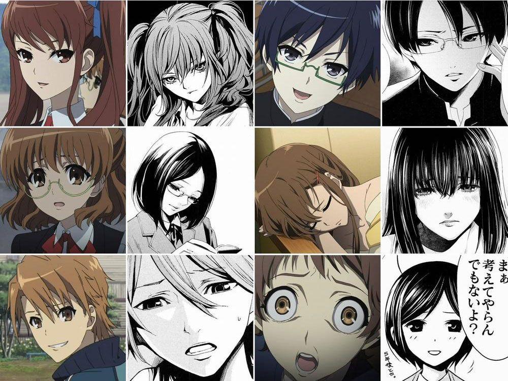 Another Anime Characters anotheranimevsmanga02 I