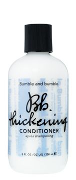 thickening conditioner paired with the Bb thickening shampoo revives thinning, limp, or fine hair without weighing hair down.
