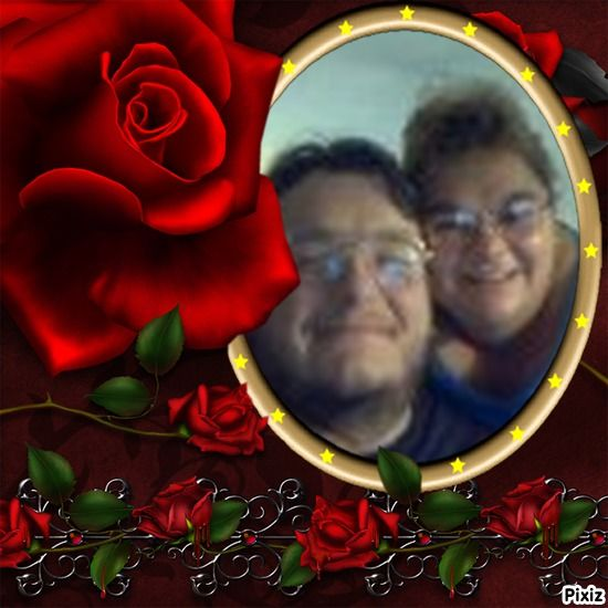 Pixiz - Red rose - Free frame No 1073 | my hubby | Free frames