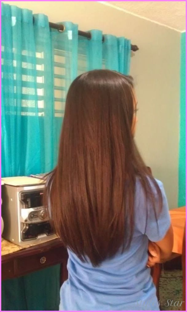 Nice Medium Long Length Haircuts From The Back Hair