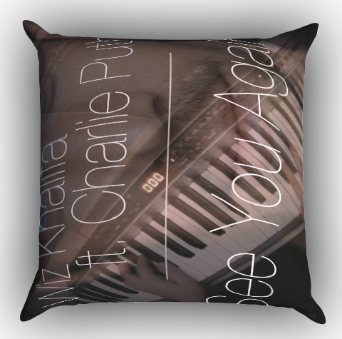 wiz khalifa see you again feat charlie puth X0714 Zippered Pillows Covers 16x16, 18x18, 20x20 Inches