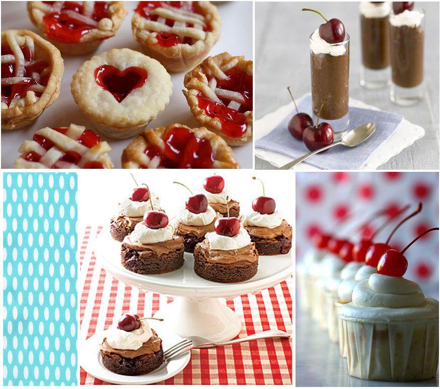 Summer Garden Party Menu Ideas Part - 23: Cherry Party Ideas. Chocolate ShotsSummer Garden ...