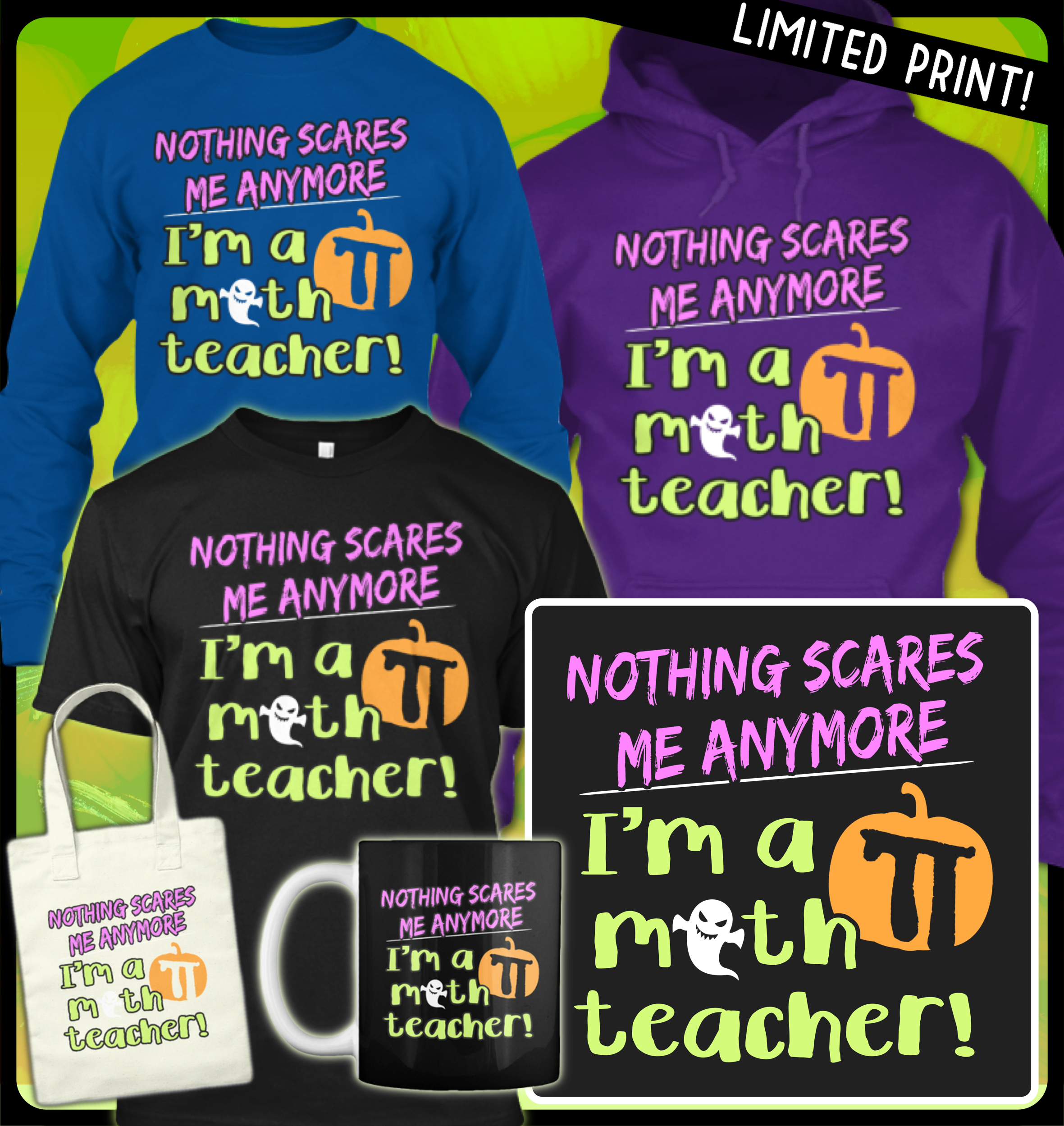 Math Teachers Need To Represent On Halloween Support Our
