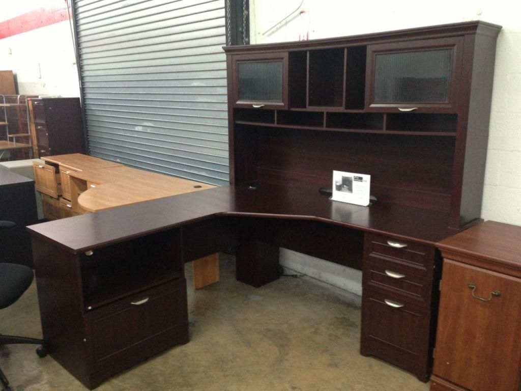 Office Depot Reale Magellan Desk And Hutch