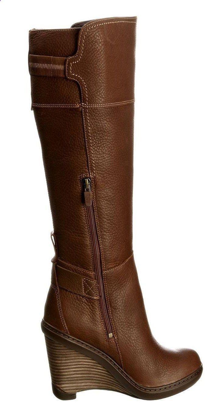 3416b6b11ab Timberland Brown Stratham Heights Wedge Boot (BB)