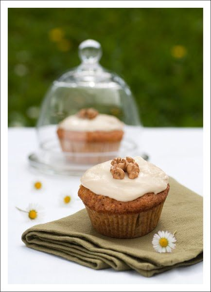 Berry Lovely: Carrot Muffins -- going to try subbing honey for the sugar.