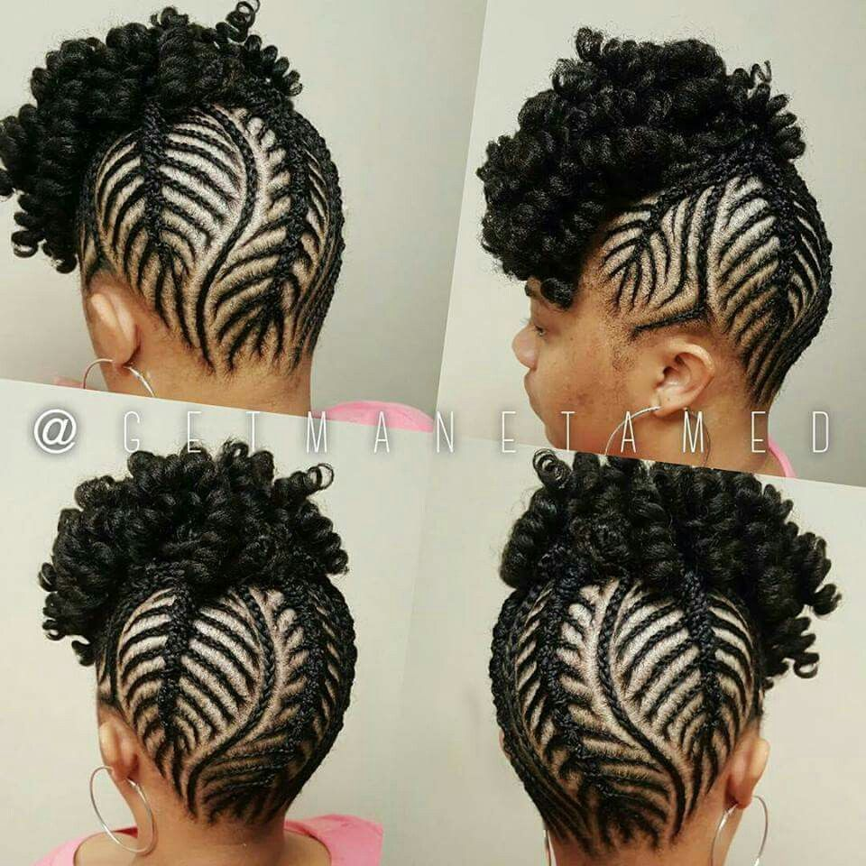 Kinkycurly relaxed extensions board black hairstyles pinterest