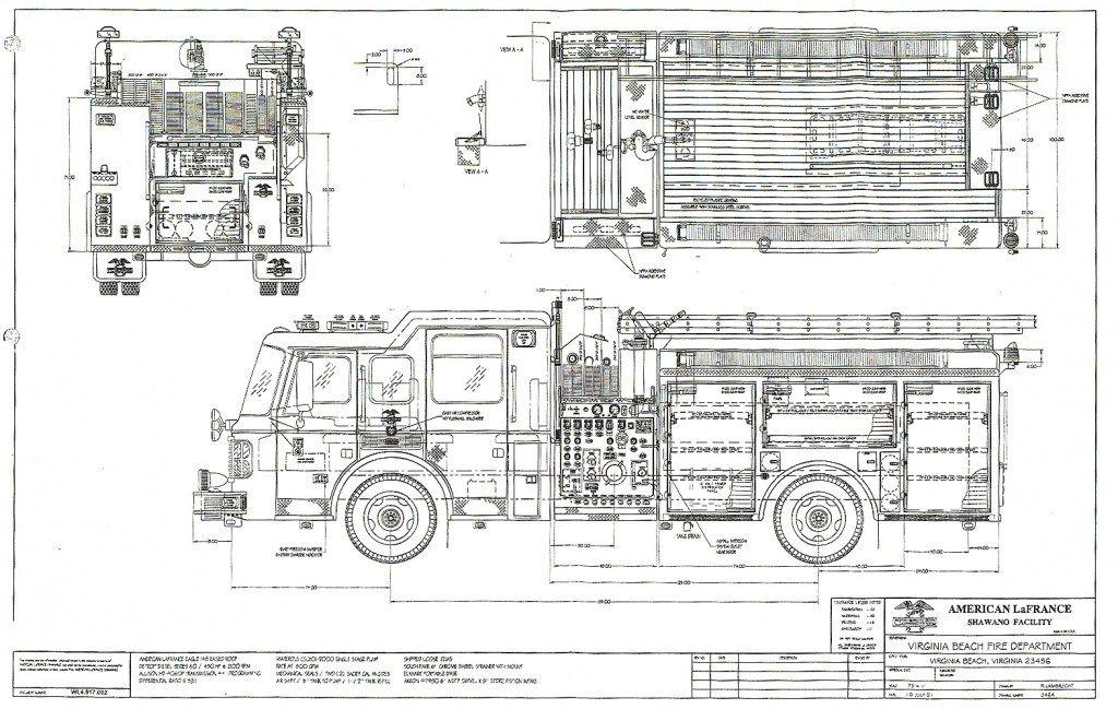 pin by timothy klanderud on blueprints pinterest rh pinterest com pierce fire truck schematic