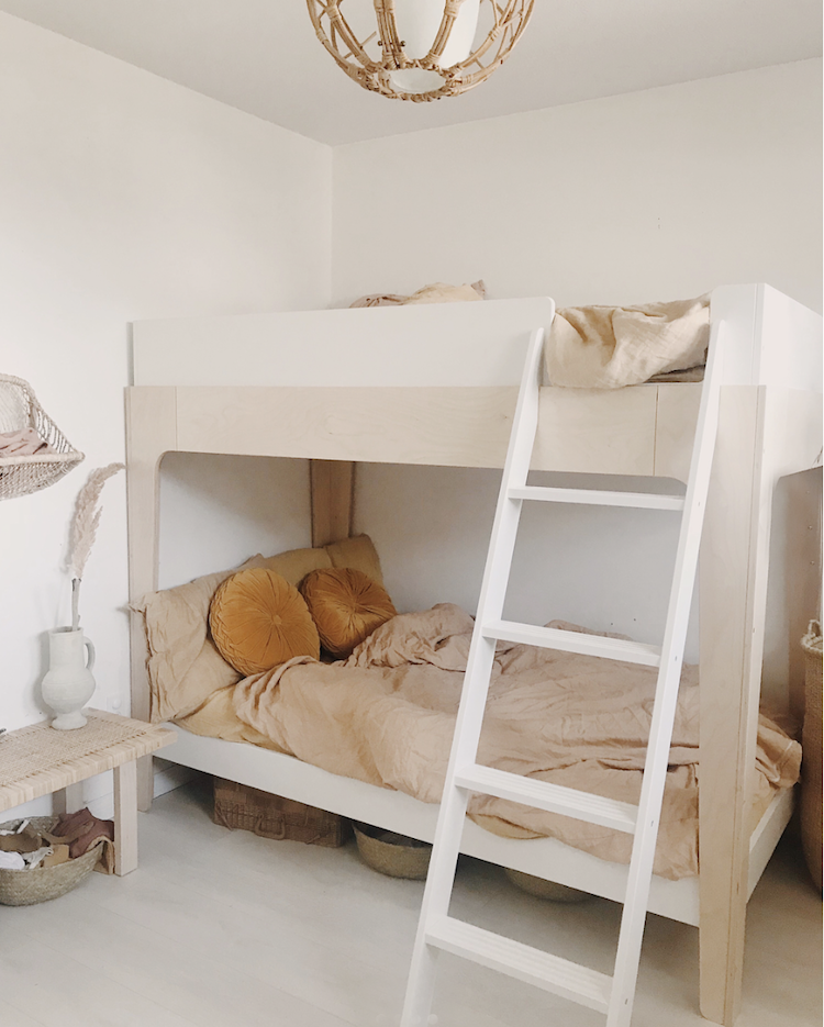 My Scandinavian Home Get The Look From A Serene Family Home In Berlin Modern Bunk Beds Bunk Bed Designs Bunk Beds With Stairs