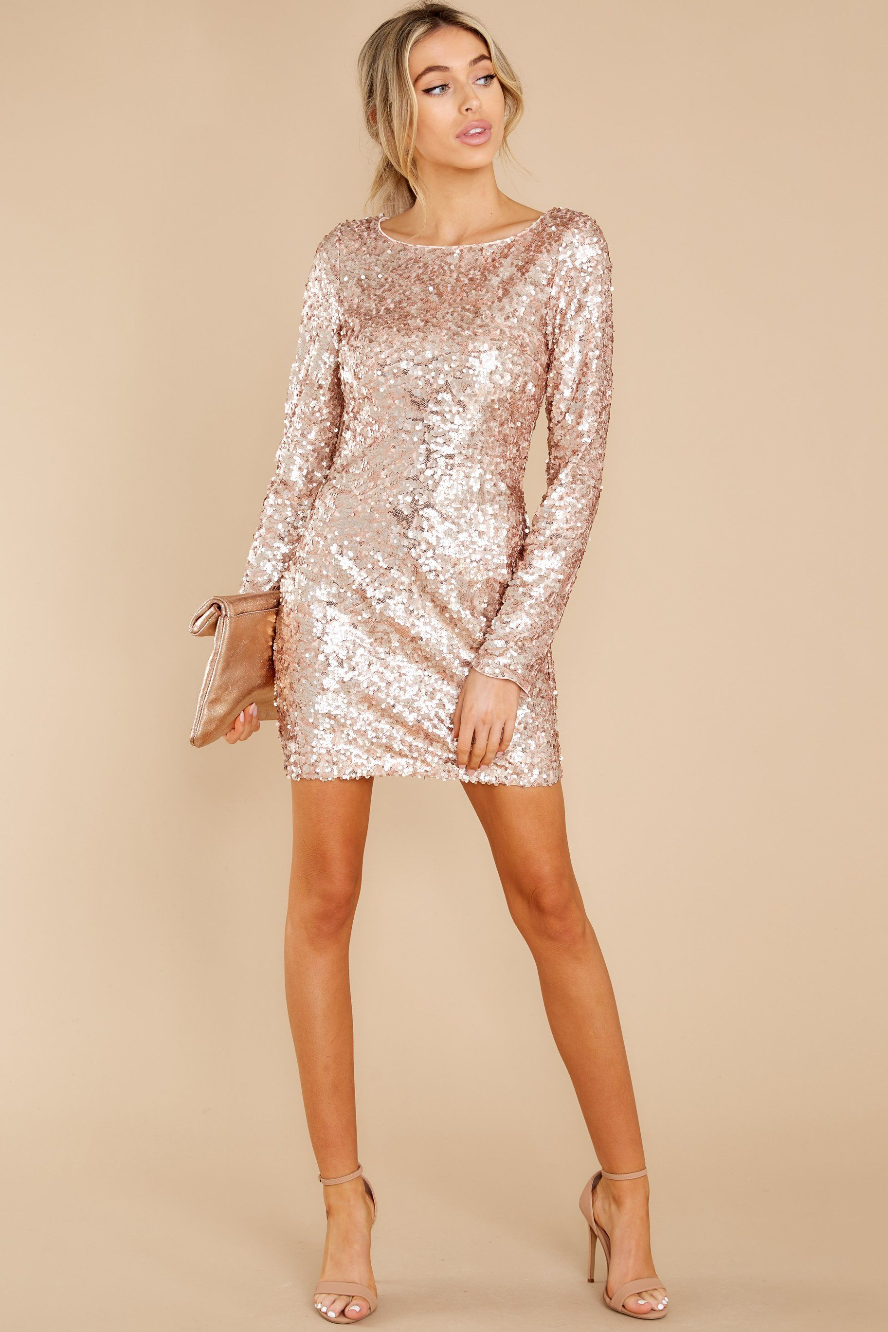 Stunning Pink Sequin Dress Party Dresses Red Dress In 2021 Dresses Sequin Dress Gold Sequin Dress [ 2738 x 1825 Pixel ]