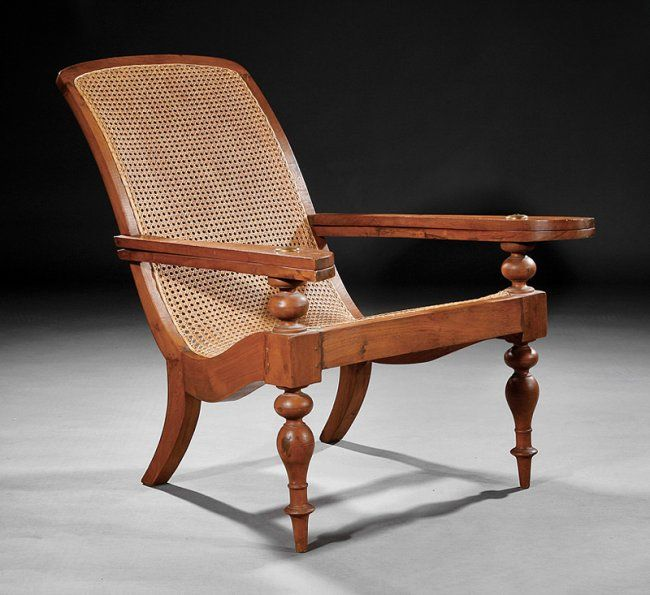 A British Colonial Hardwood Planters Chair