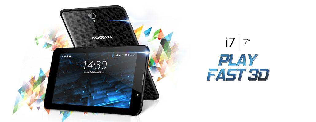 Advan I7 Tablet Canggih Dengan Fitur Pelindung Mata Dan 4G LTE